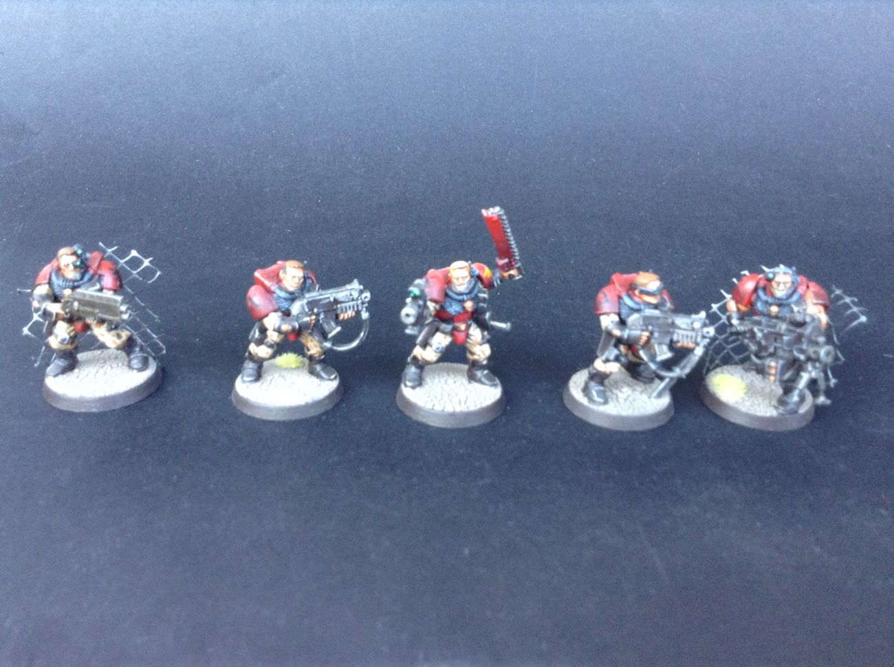Blood Angels Heavy Bolter Scout Squad Sergeant Shotgun Warhammer Warhammer40k