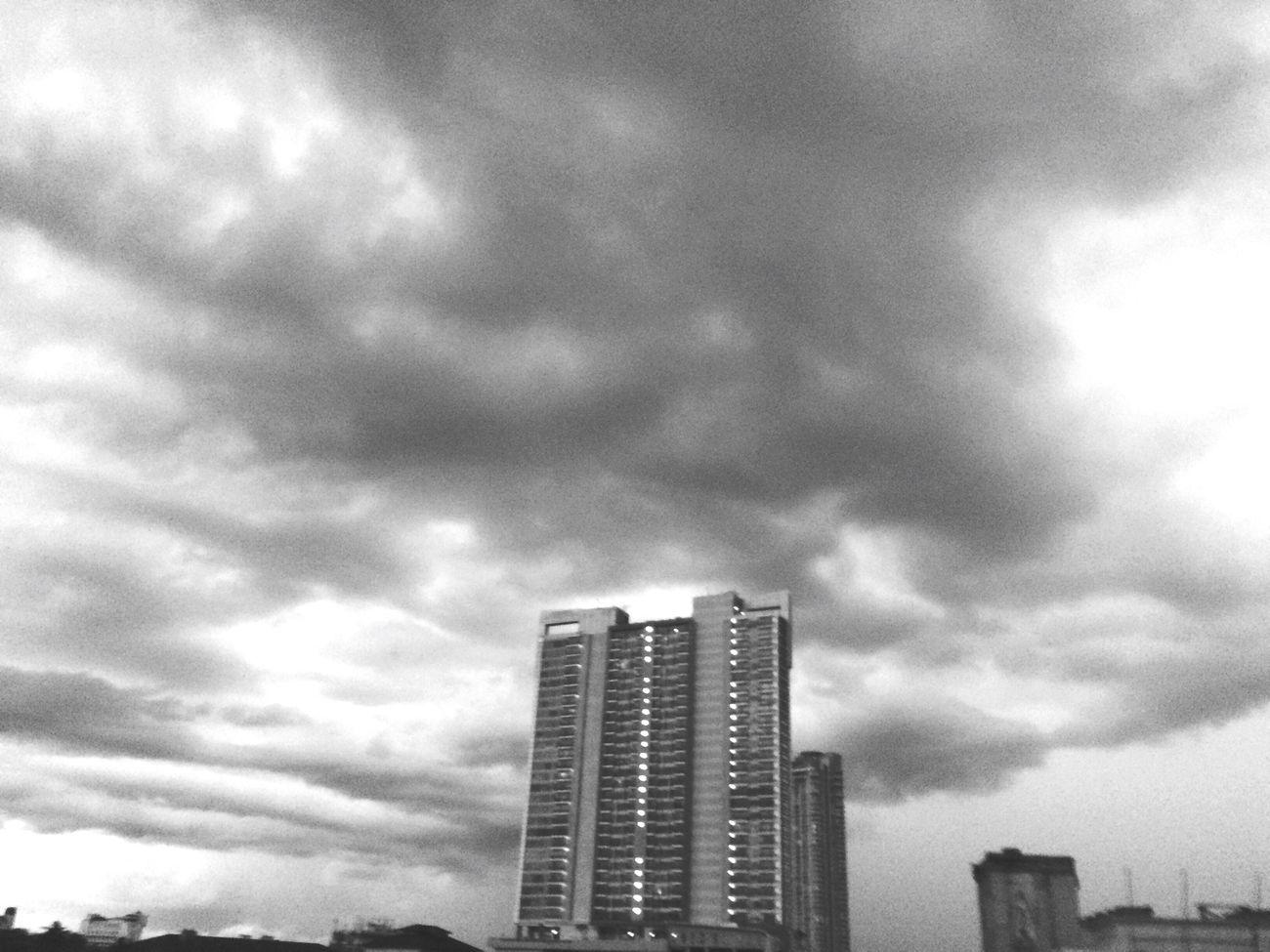 Blackandwhite Skyporn Jakarta Indonesia