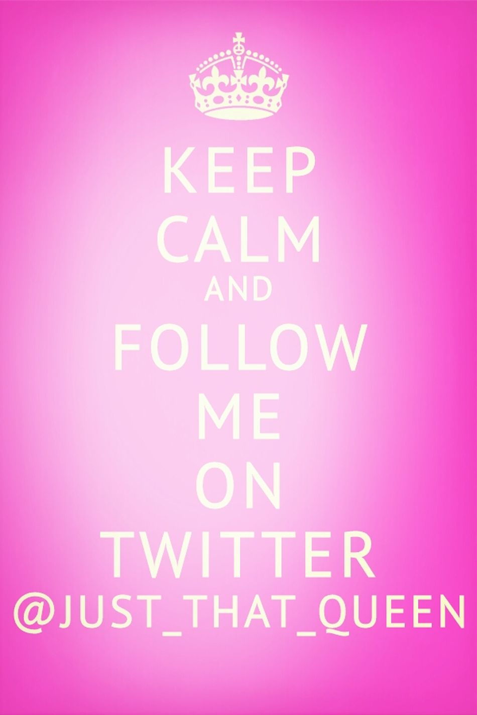 Follow Me And I Will Follow Yu Back