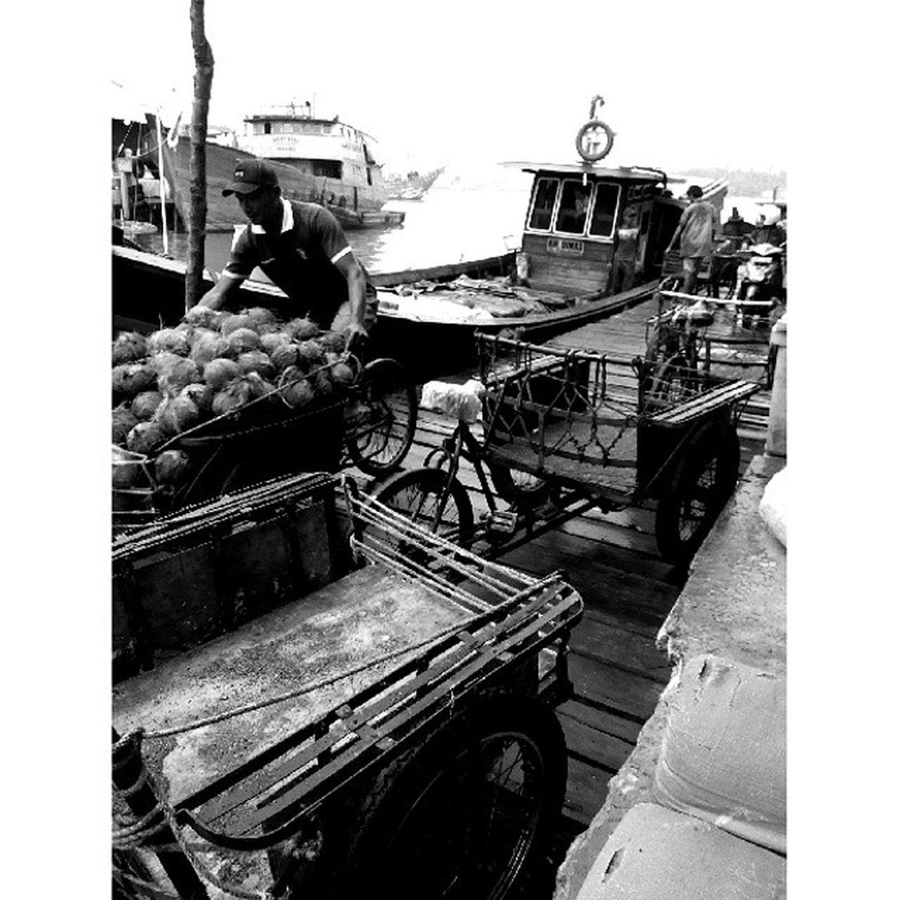 Kehidupan dipasar Tradisional pelantar kota Tanjungpinang dikala sedang bongkar muat barang .... Lenovo_s920camera Photobyphone_myproject Blackandwhitephoto Wonderfullkepri Humanityphotography People Humaninterestphotography Portraiturephotography Streetphotography Wonderfullindonesia IndonesiaOnly Ig_nesia Photooftheday Thephotosociety Traditional
