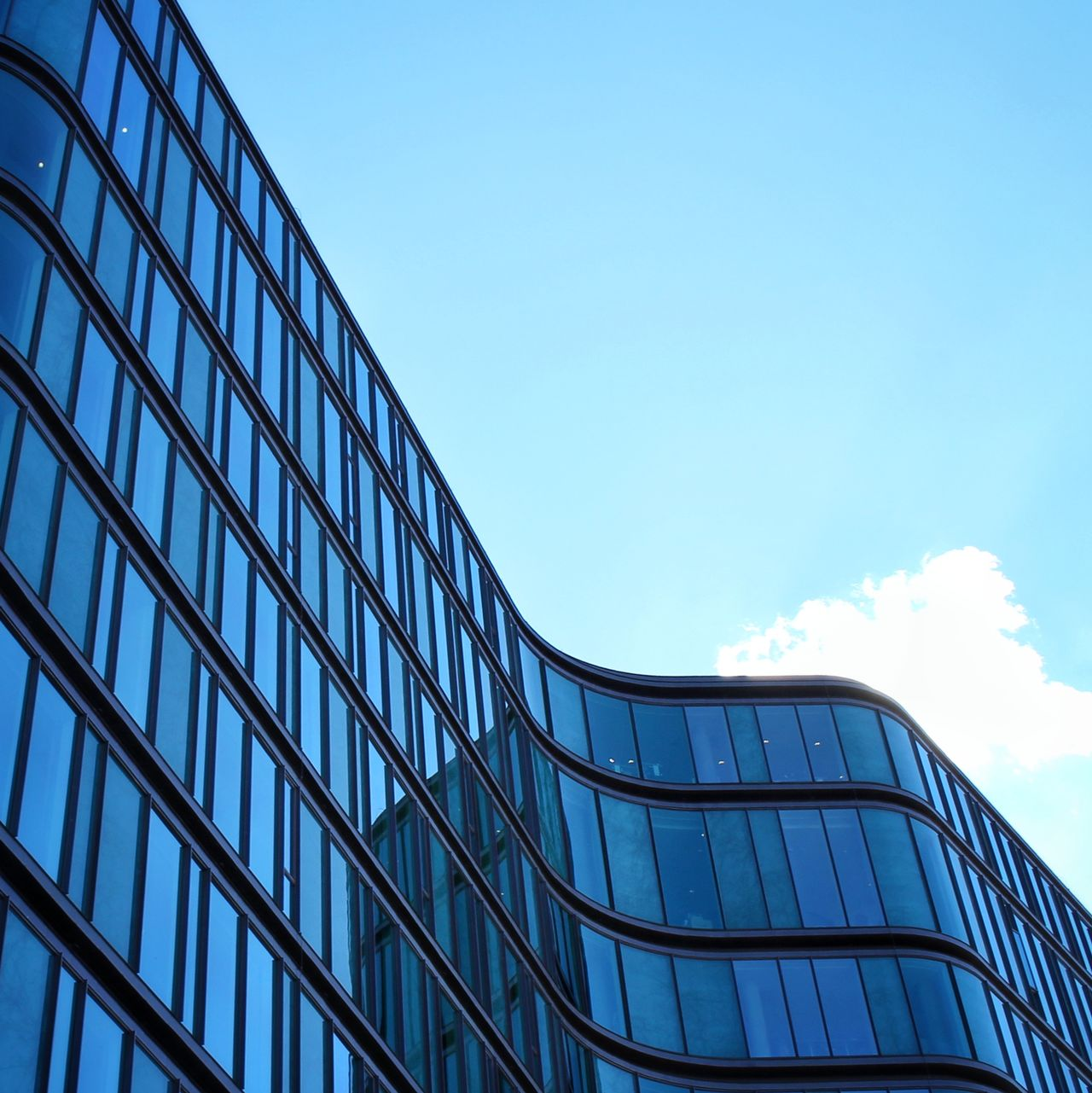 Beautiful stock photos of glas, copy space, building exterior, built structure, clear sky