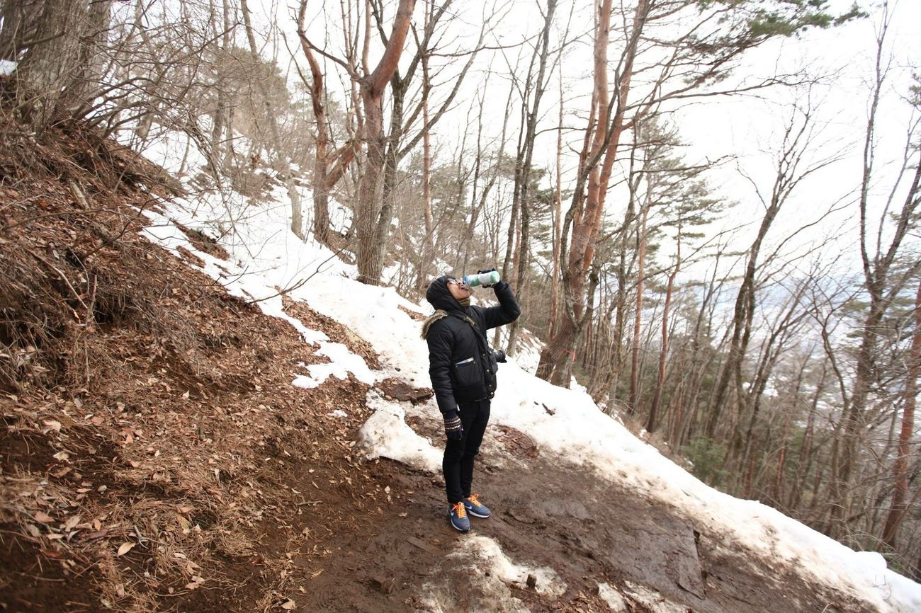 Fuji Japan GoodTimes Backpacking ระหว่างทาง Nature Snow Hello World Cool Memories