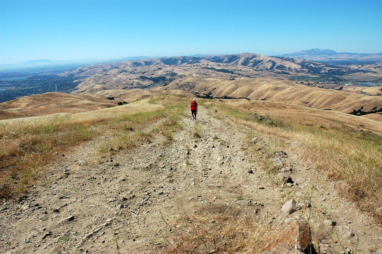Scenic View Of Mountains At Brushy Peak Regional Preserve