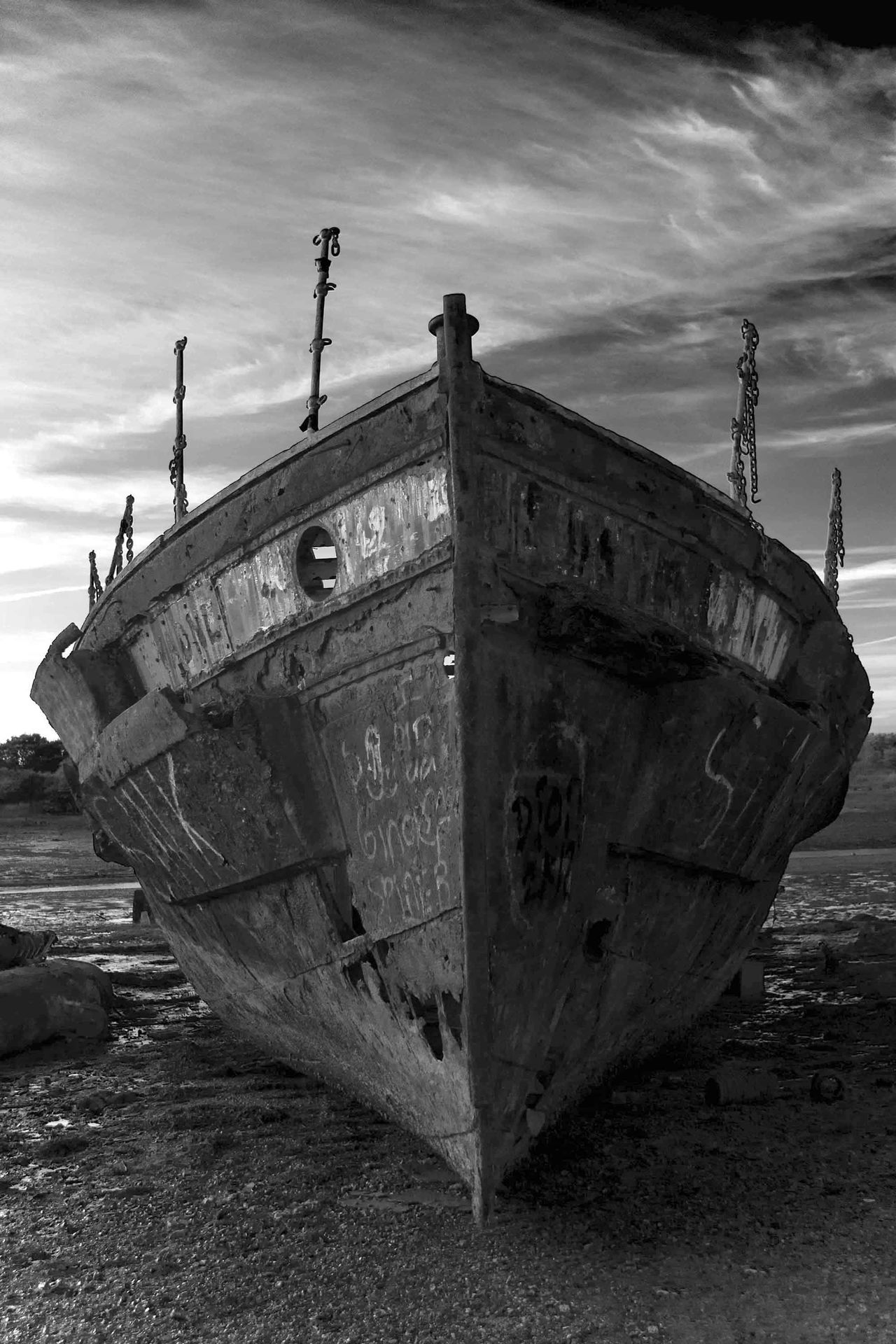 Beautiful stock photos of piraten,  Absence,  Boat,  Cloud - Sky,  Damaged