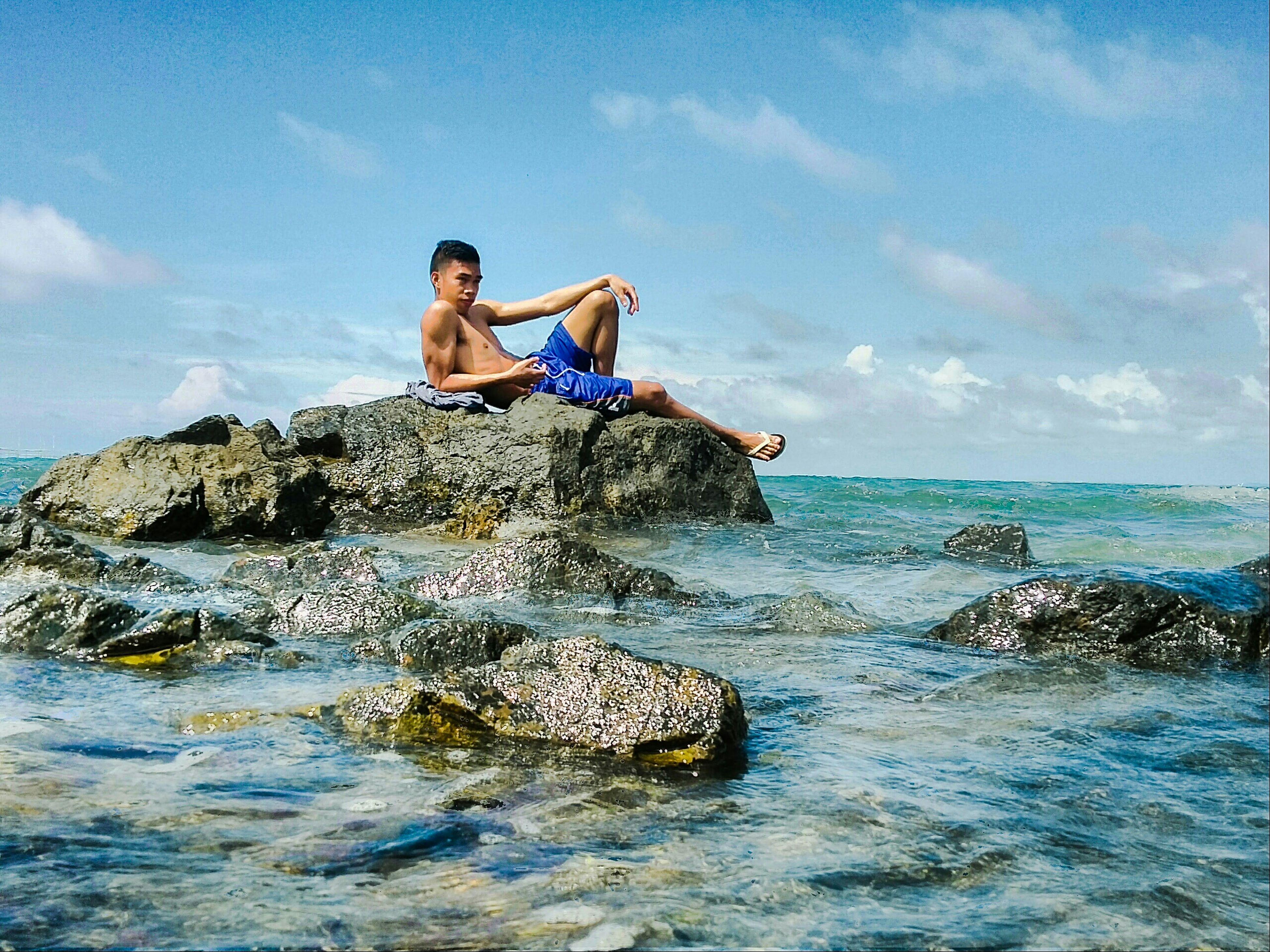 When in Iloilo. Random phone shots fresh from LULI(lulubog lilitaw island)... HDR Luli Lulubog Lilitaw Island Banate,iloilo Seashore Beach Scenery Taking Photos Enjoying Life Hanging Out