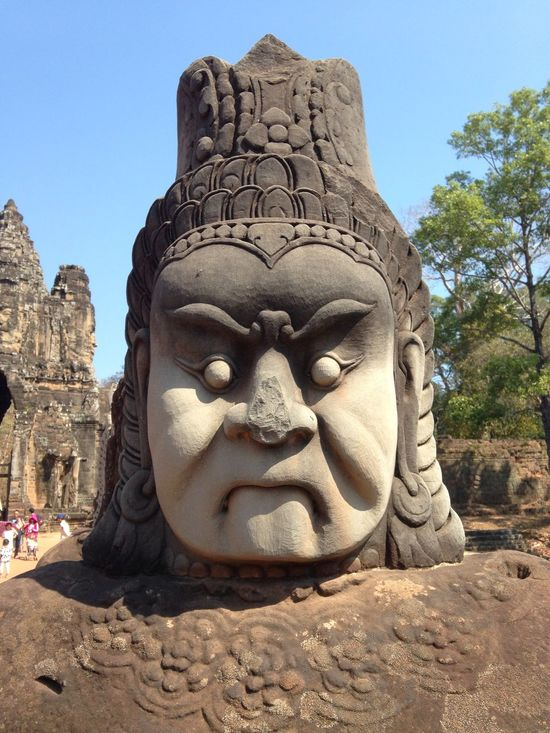 Ancient Ancient Civilization Architecture Bemusement Park Clear Sky Concert Day Expression Face Hello World Idol No People Outdoors Place Of Worship Puzzle  Religion Sad Sand Sculpture Sky Sone Face Spirituality Statue Travel Destinations Unsure