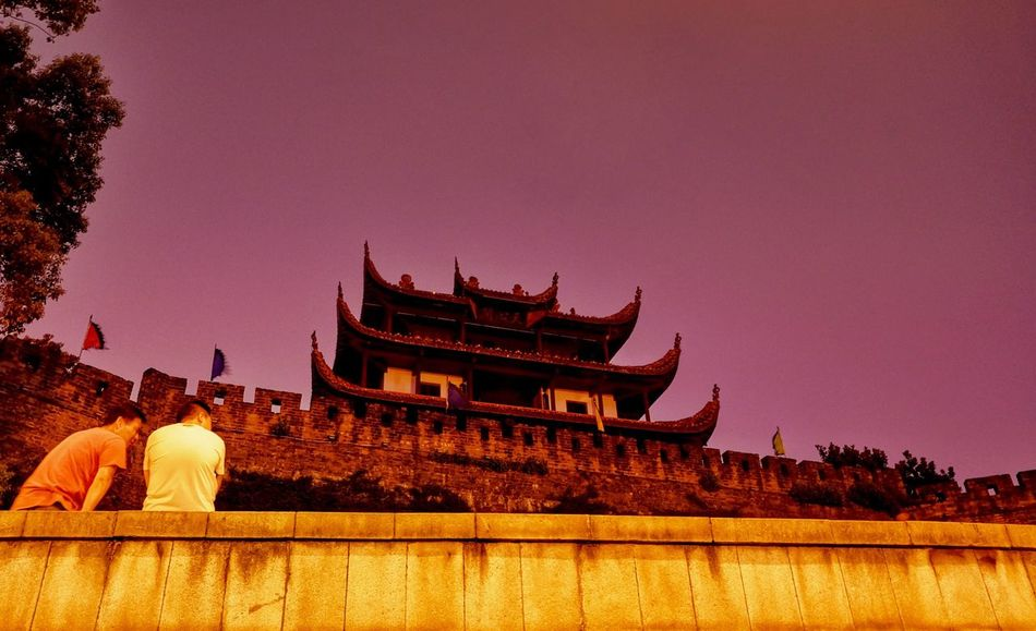 Two Is Better Than One Changsha Temple - Building Person Outdoors Travel Destinations
