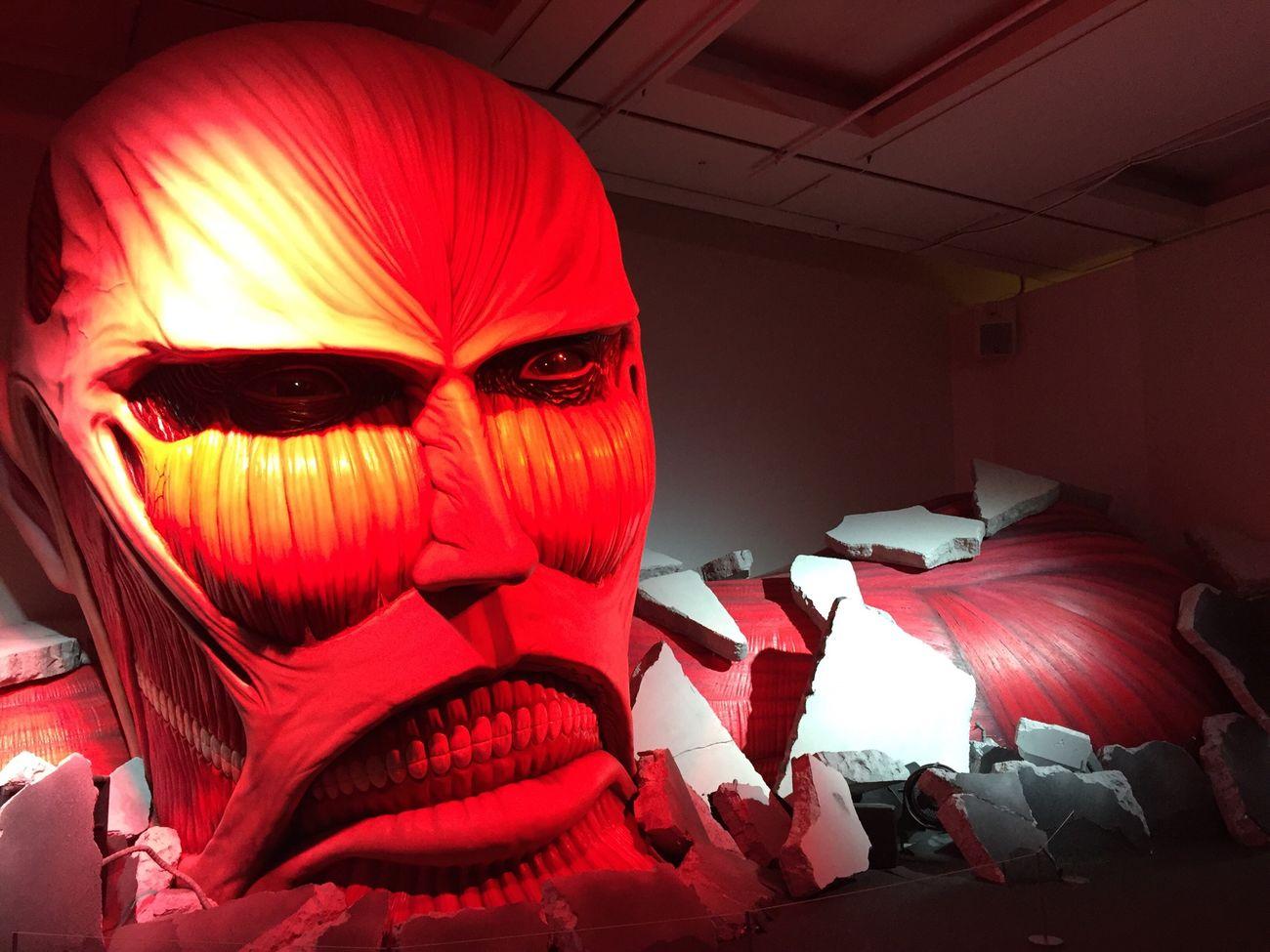 上野の森美術館 Attack On Titan 進撃の巨人展 進撃の巨人