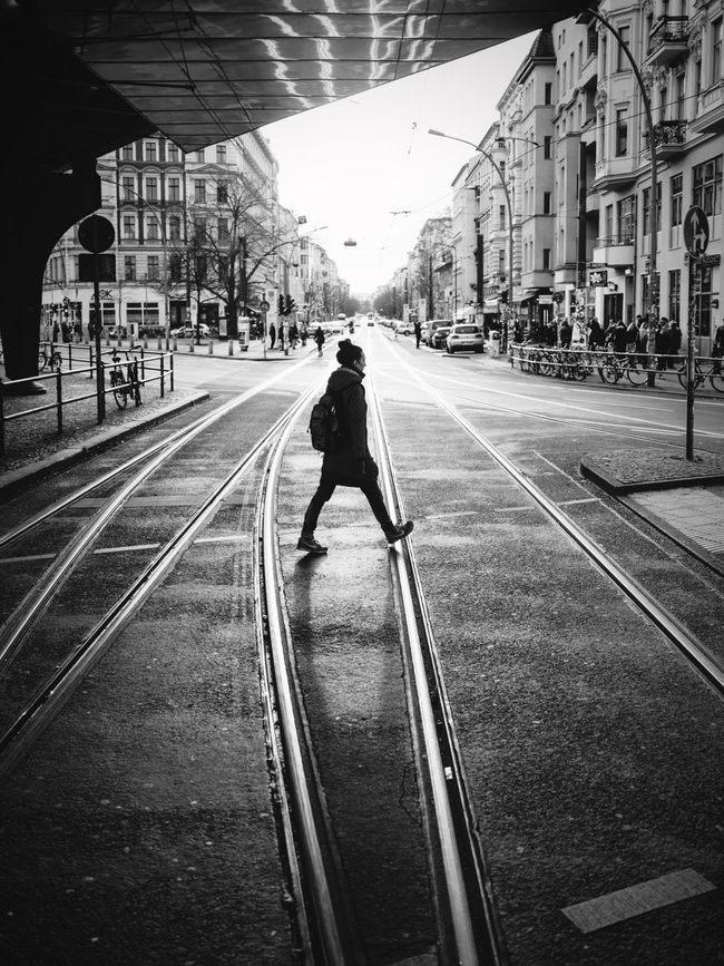 tram tracks Tramtracks Streetphotography Streetphoto_bw