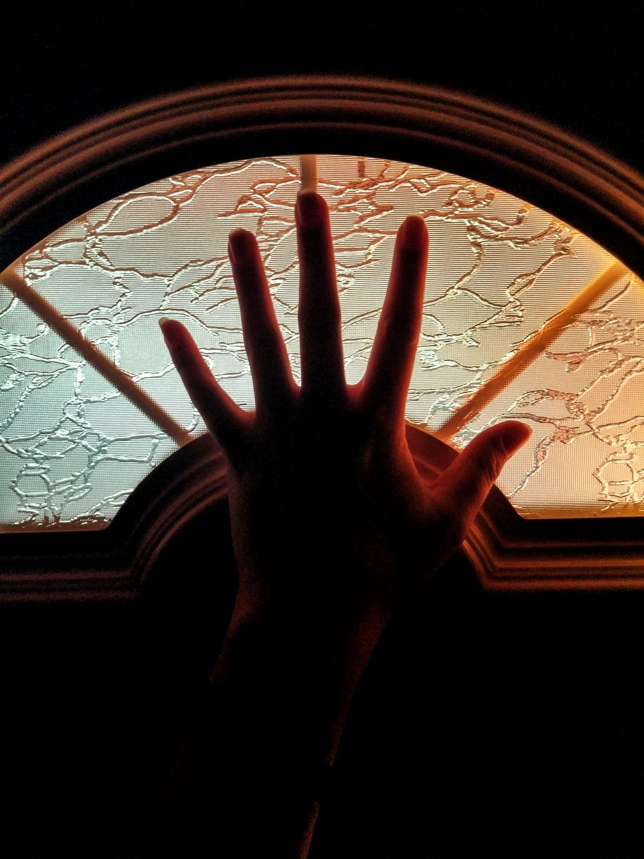 Close-up Dark Detail Door EyeEm Best Edits EyeEm Best Shots Gloving Gloving Light Illuminated Light And Shadow Sunrise Warm Colors Warm Photo Hand Reaching For The Sun Home Is Where The Art Is Color Palette EyeEmNewHere