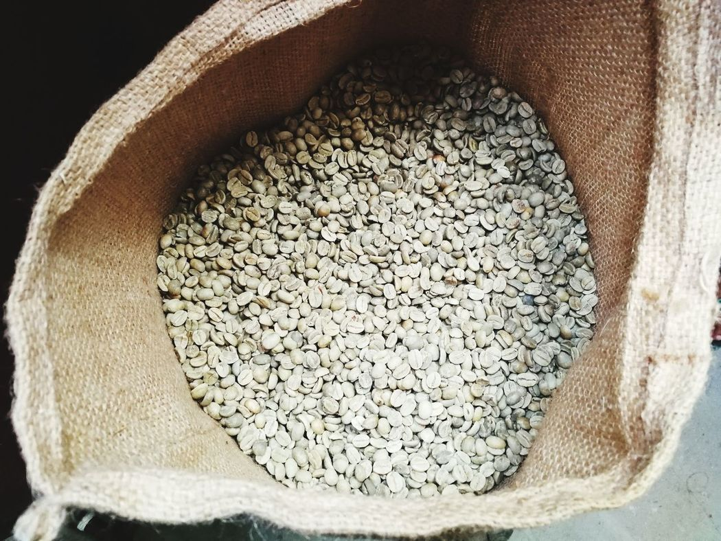 Food Food And Drink Abundance No People Cereal Plant Healthy Eating Directly Above Large Group Of Objects Textured  Stack Sack Close-up Wheat Day Freshness Green Beans, Factory Coffee Roasting House Business Finance And Industry Coffee Roasting Textured  Textured