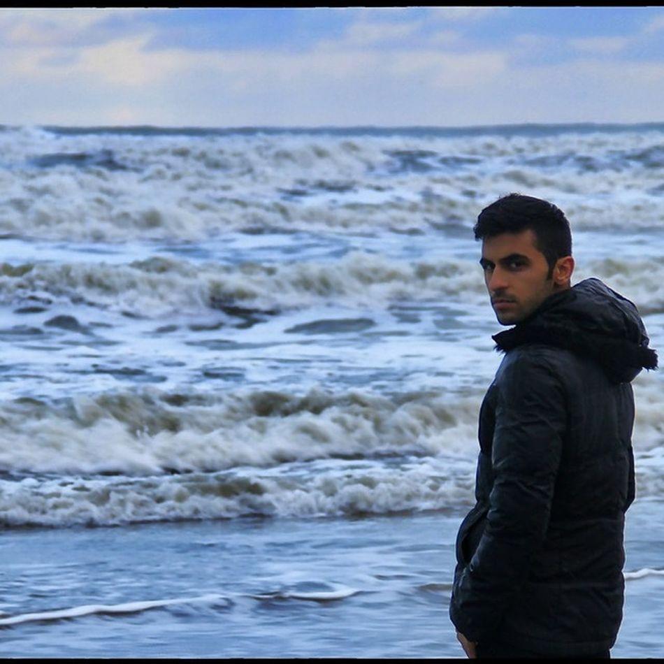 Iran Selfie ✌ Caspian Sea Khezer Shahr