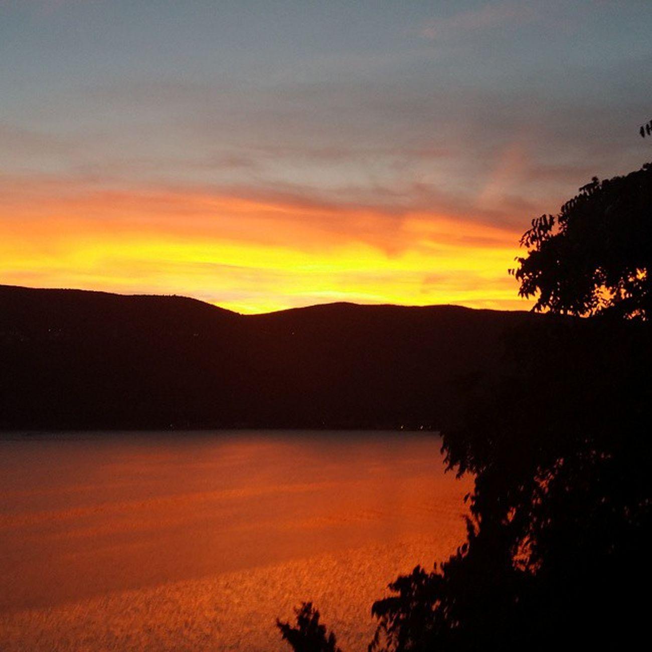 Weather transgression Hercegnovi Bayofkotor Bokakotorska Baylife Sunset Orange Sea Sky
