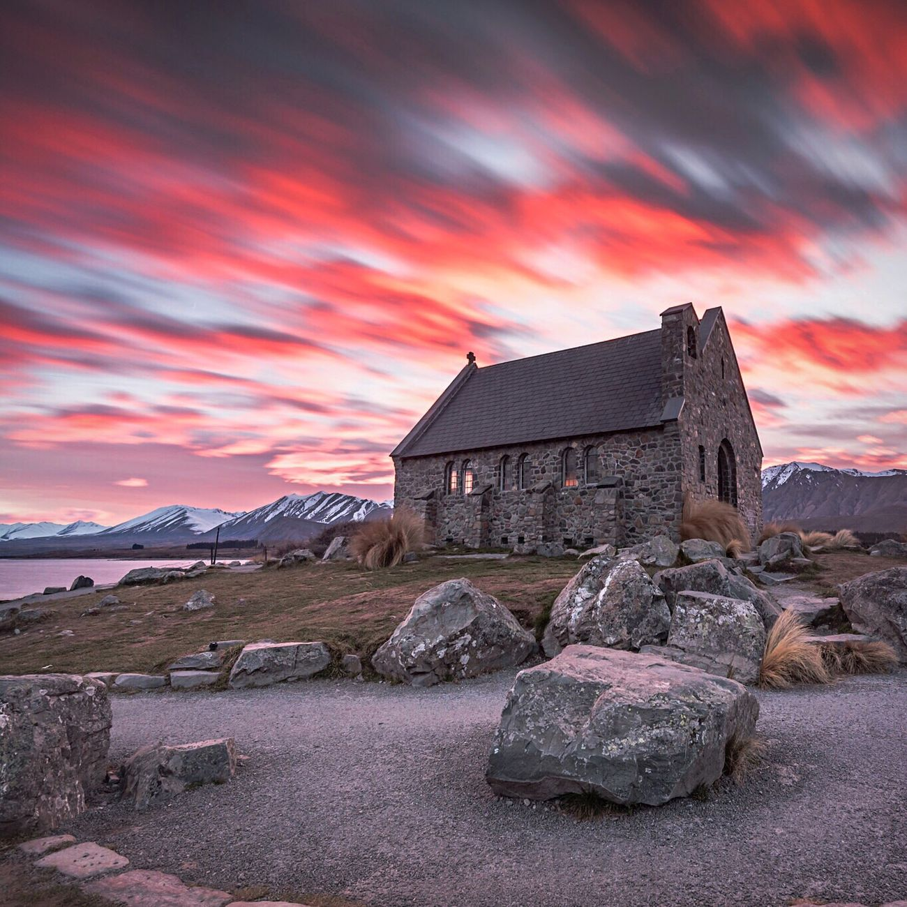 The big guy was smiling at The Church of the Good Shepherd in Tekapo this morning! My Year My View EyeEm Best Shots - Sunsets + Sunrise Tadaa Community Popular Photos New Zealand Scenery Cloudporn Nature On Your Doorstep Ladyphotographerofthemonth Eye4photography  Exceptional Photographs Sky_collection EyeEm Masterclass For My Friends That Connect Amazing_captures Shootermag Church Buildings My Sky Obsession... Eyem Best Shots Sunrise N Sunsets Worldwide  Showcase August 2016 EyeEm Gallery Bestoftheday #contestgram #instamood #dailyphoto #primeshots #ig_captures #clouds #sky #cloud #blueskys #sunshine #cloudporn #skyporn #skysnappers #nature #blue #light #skylovers #skystyles_gf #cloudy #iloveclouds #cloudscape On The Way
