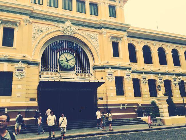 Saigon Postoffice Hochiminh My Country My Proud Love Beautiful !!