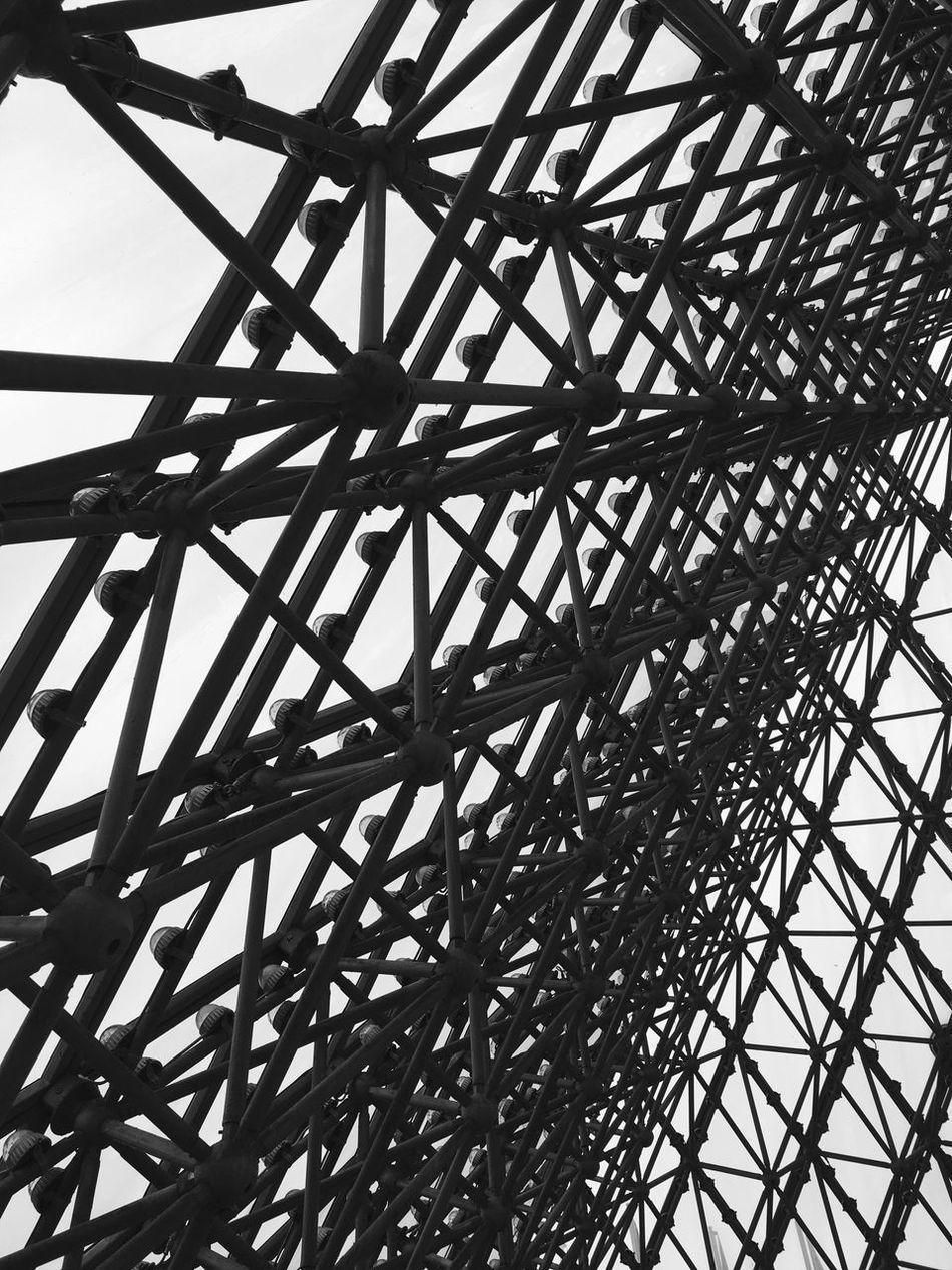 Modern Architecture at Window of the World Pyramid in Shenzhen - China Chinese Architecture Architectural Architectural Detail Monochrome Black And White Window Of The World  Architecture Building Interior Modern Architecture China Lattice Pattern Pattern Chinese Pyramid Pyramids Abstract Inside Shenzhen