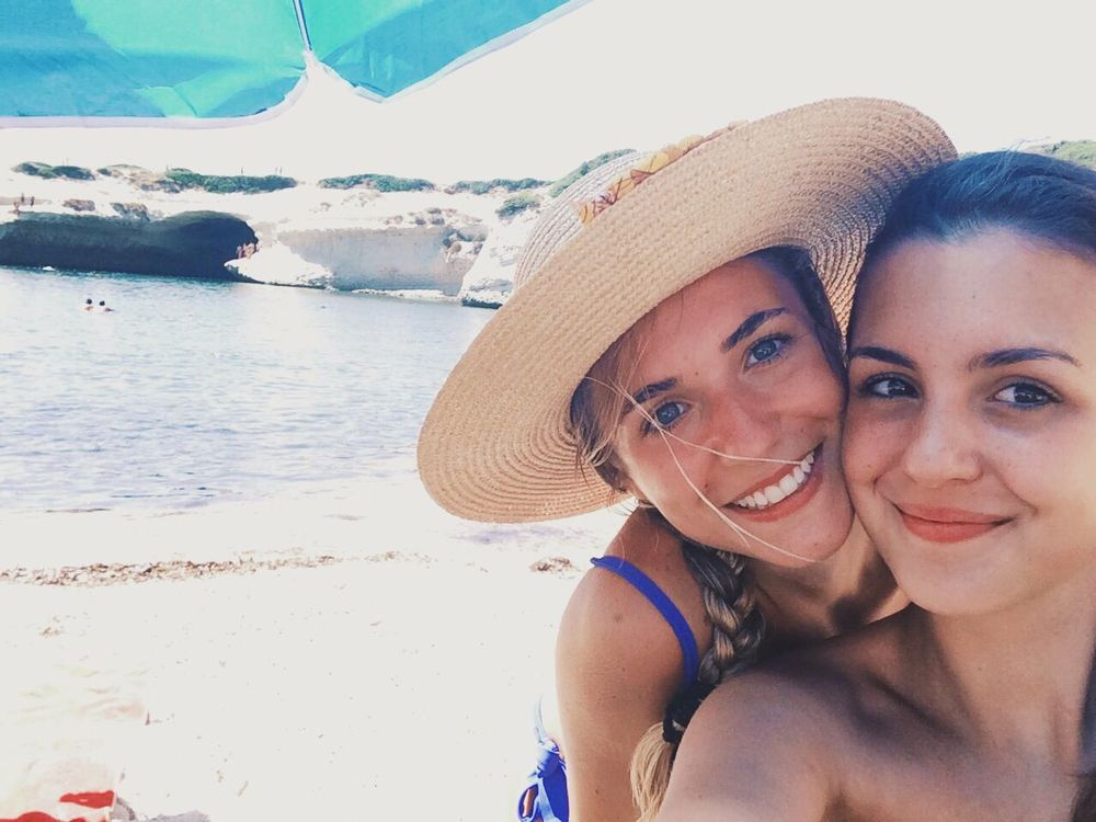 Lovely sisters in a lovely place ? Sister Sisters Girls Summer