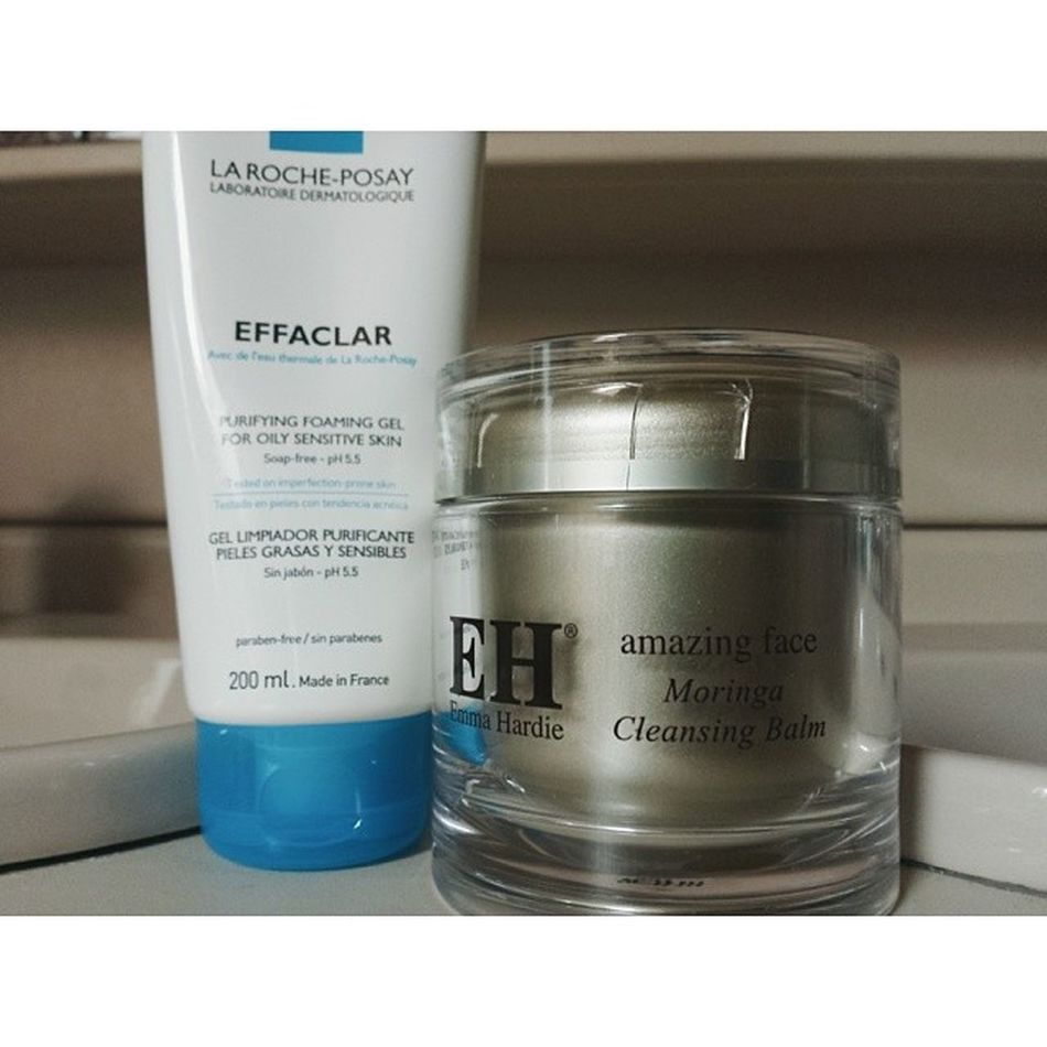 It's absolutely absurd how well this double cleanse combo works. Emmahardie LRP Bbloggers