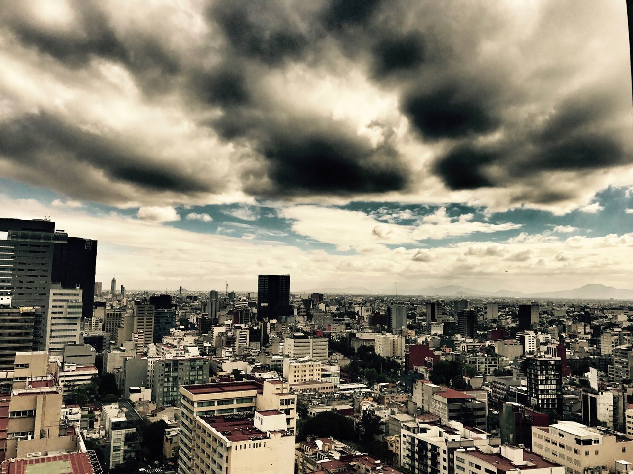 Mexico City, Mexico Architecture Cityscape Cloud - Sky