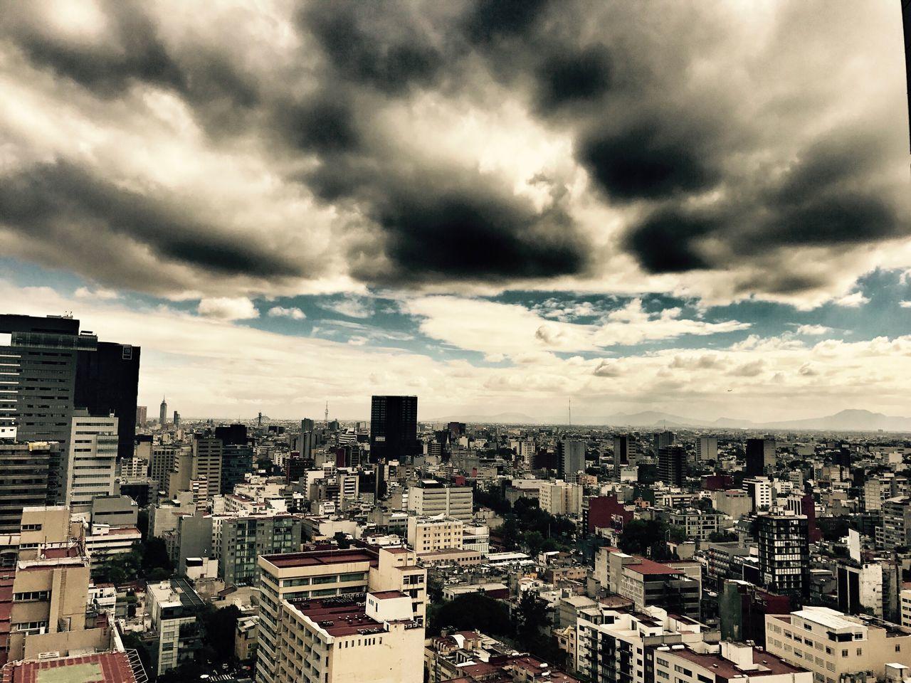 Mexico City, Mexico Architecture Cityscape Cloud - Sky