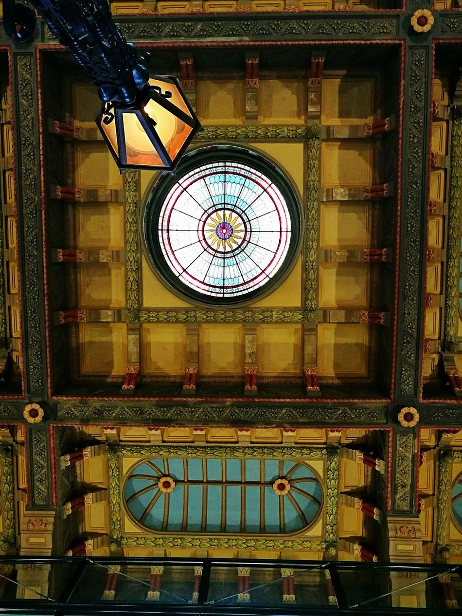 Groningen Holland Groningen City Groningen Railroad Station Ceiling Roman Numeral Indoors  No People Built Structure Architecture Hour Hand Close-up Day
