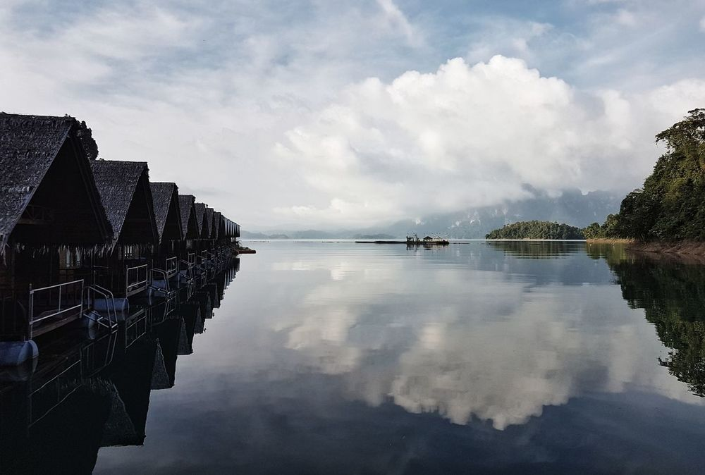 Water Cloud - Sky Reflection Outdoors No People Sky Lake Nature Landscape Scenics Day Nautical Vessel Beauty In Nature The Street Photographer - 2017 EyeEm Awards Lifestyles Summer Travel Destinations Travel