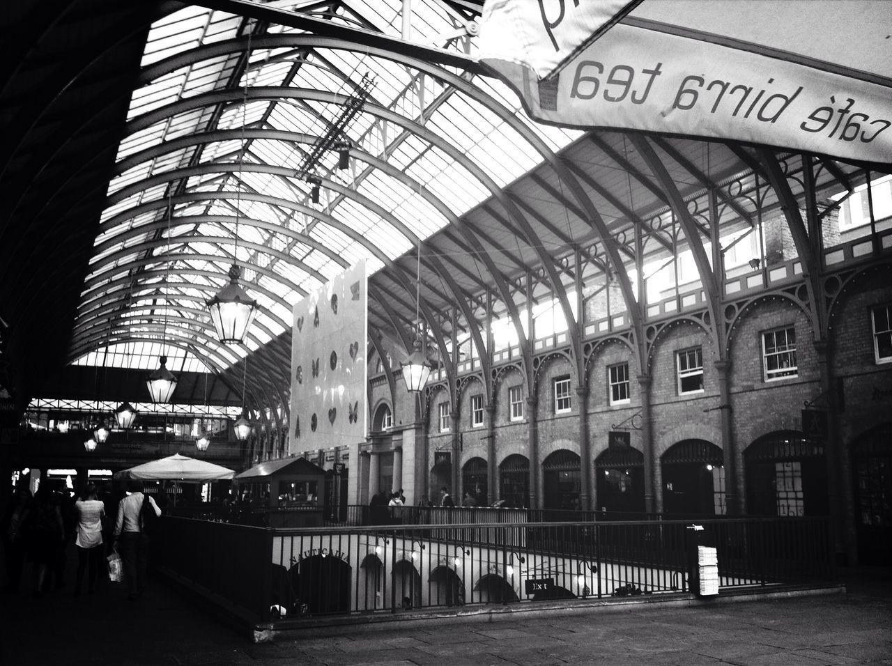Interior Of Covent Garden Market