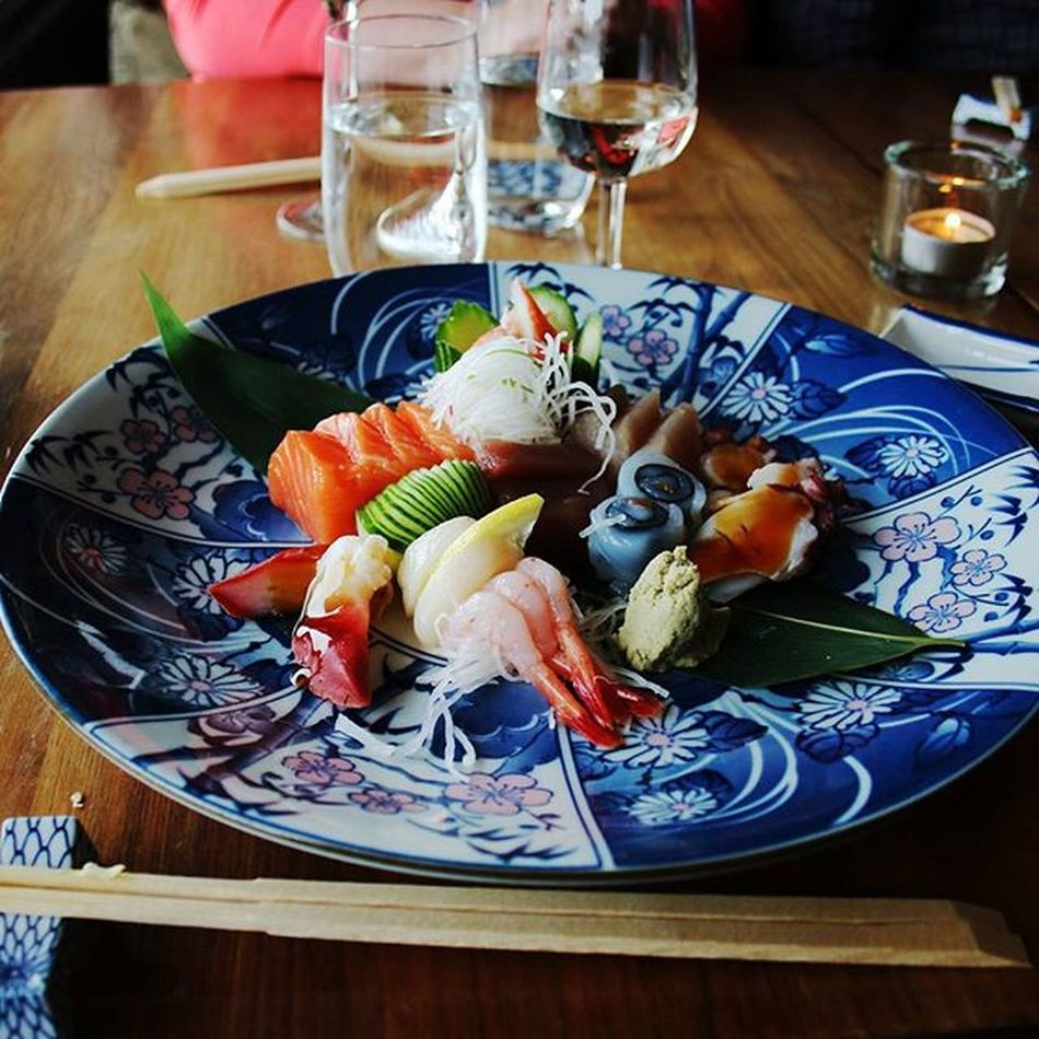 Photo of the Sashimi  Meal on my Brother Birthday a few weeks ago. Awesome Japanese Style Moriawase at seikoen