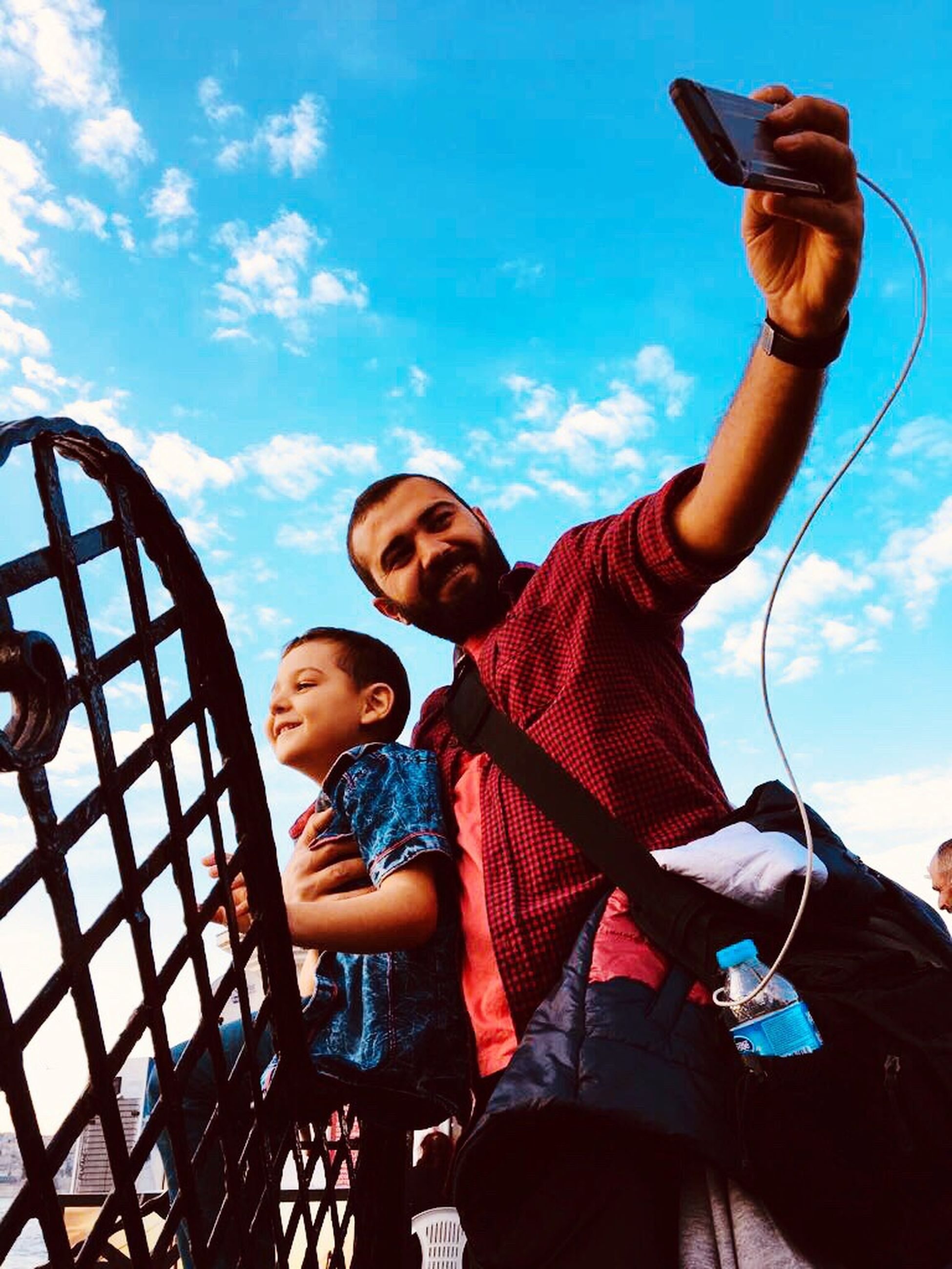 Father Childhood Sky Family Real People Family With One Child Boys Son Togetherness Outdoors Low Angle View Day Men Happiness Child Bonding Adult Young Adult People Istanbul Turkey Istanbulda1yer Istanbuldayasam Istanbul Beauty In Nature Nature #