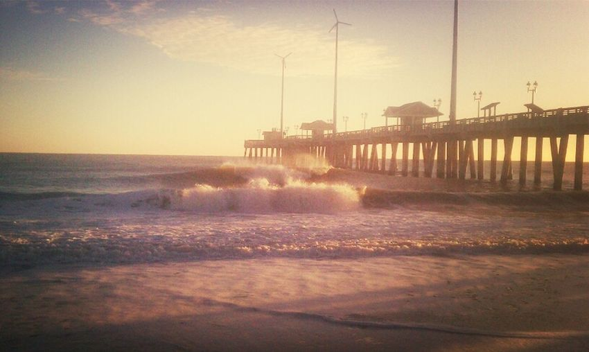 Surfing Pier Perfect Chest High A Frame