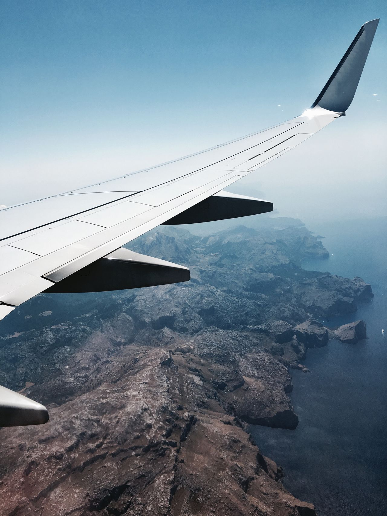 Beautiful stock photos of airplane, transportation, airplane wing, journey