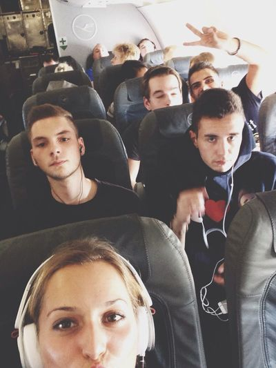 Selfie in the plane High Life Enjoying Life Check This Out