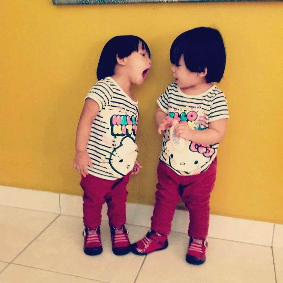 My adorable cousin😁😘 Twinsister Twincousins Amberandkhyra