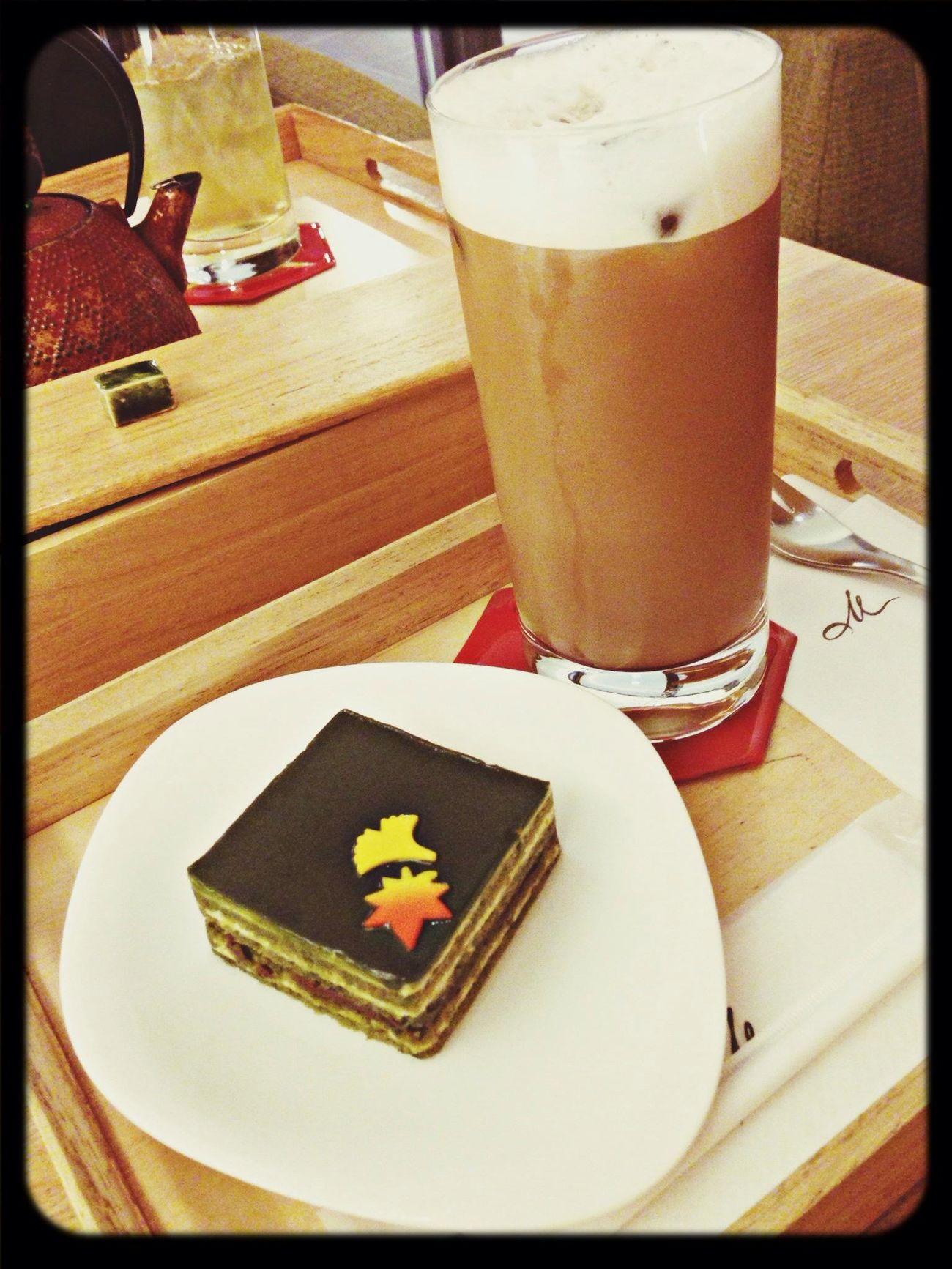 Kyoto Greentea Cake Japanese Sweets Caffì¬ Au Lait