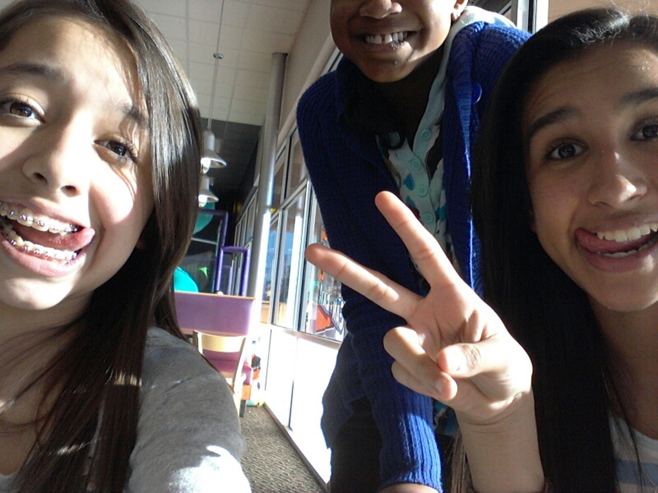 Me Bianka and Jackie!!(: