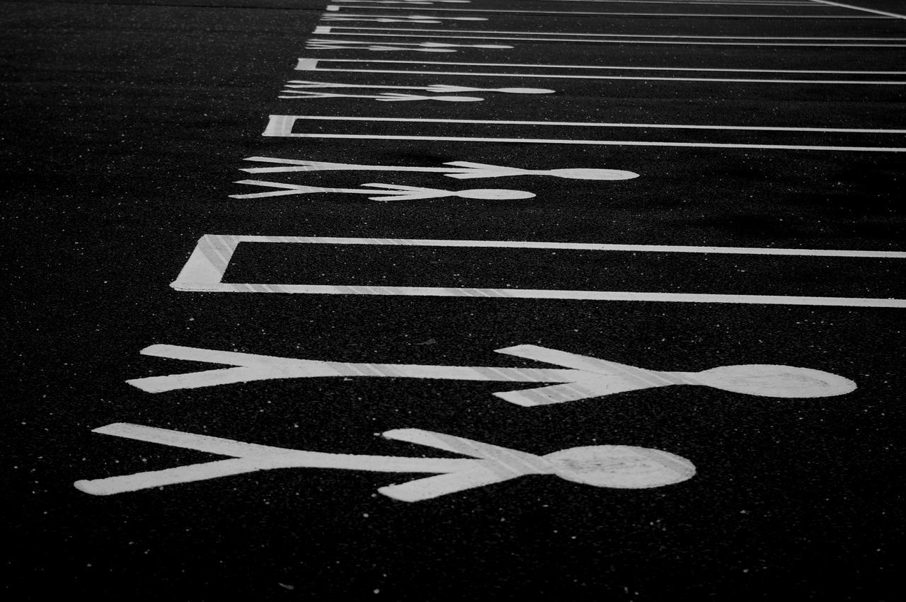 Project bored Asphalt Communication Day Guidance No People Outdoors Road Road Marking Road Sign Symbol Transportation