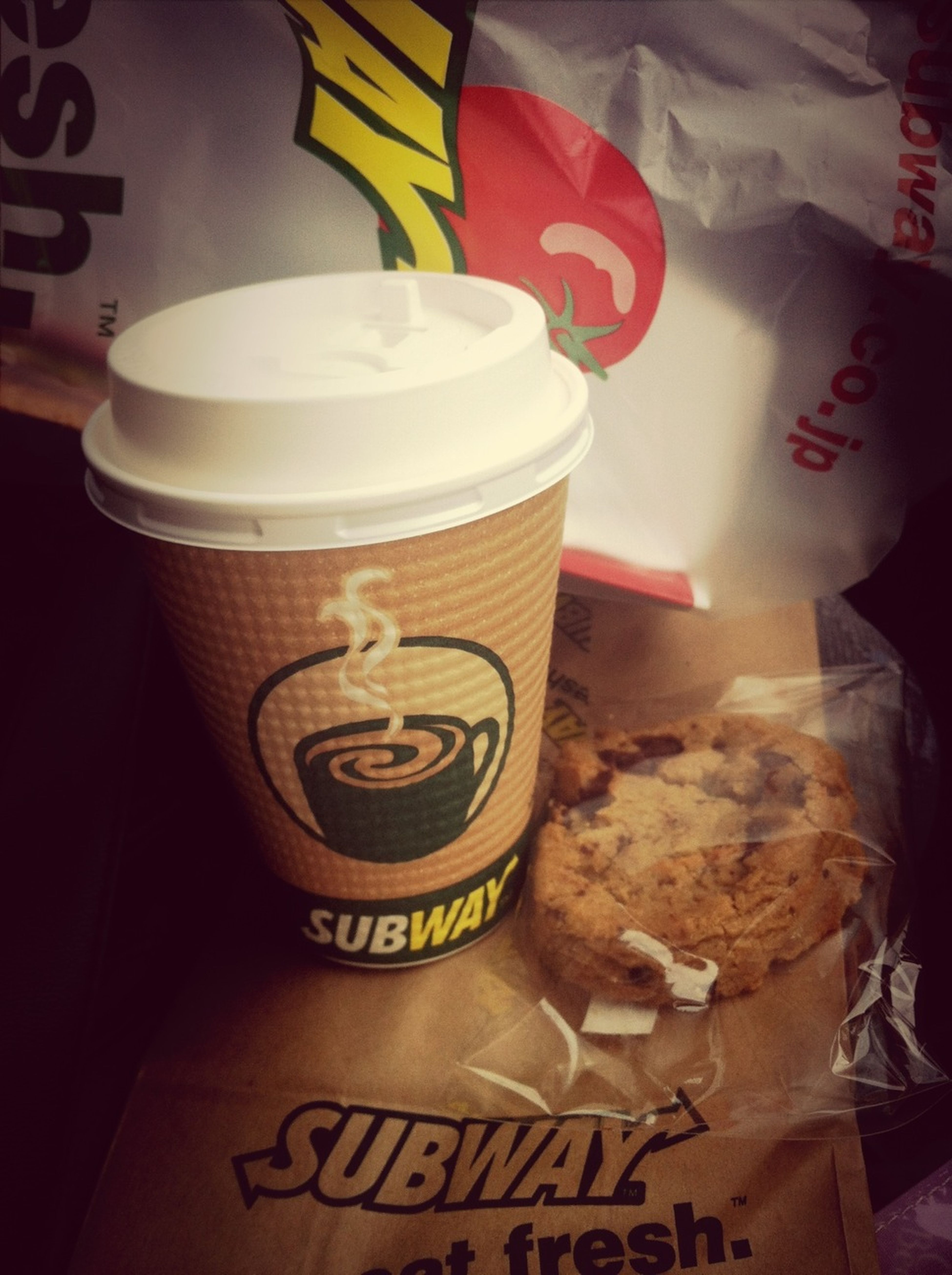 When I went to Canada,I met the subway.Japan doesn't have this in those days.Sn,I remember canadadays I go to the subway.