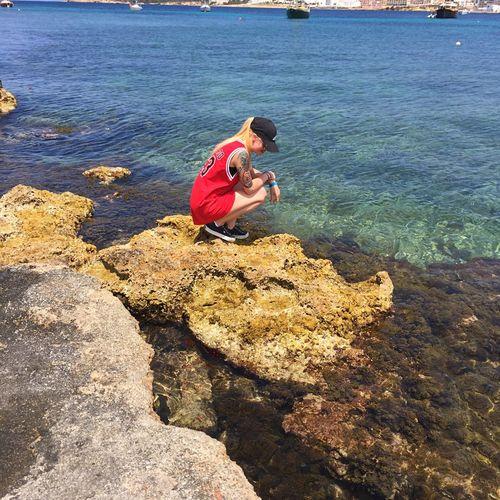 Ibiza addition Women Ibiza Tattoo Sea Rock - Object Sunlight