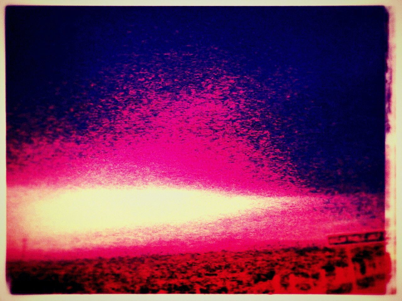 auto post production filter, no people, beauty in nature, sunset, red, sky, nature, scenics, water, outdoors, close-up, day