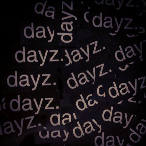 Dayz. | visit www.dayzmagz.com @dayzmagz | Magazine Sticker
