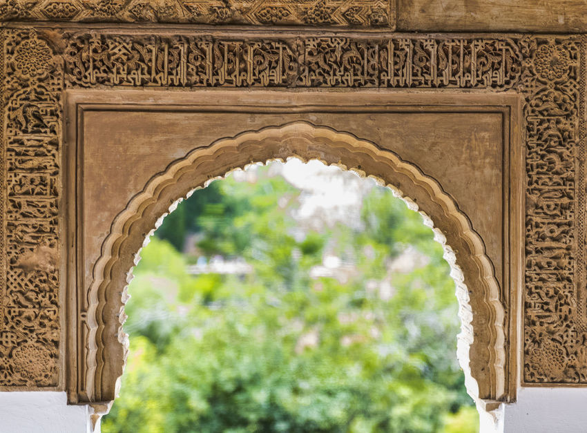 EyeEm Selects Alhambra Andalucia arabic Archarchitecture Architecture Triumphal Arch Travel Destinations History Monument Architectural Feature Built Structure Tourism Intricacy Bas Relief Day Outdoors No People