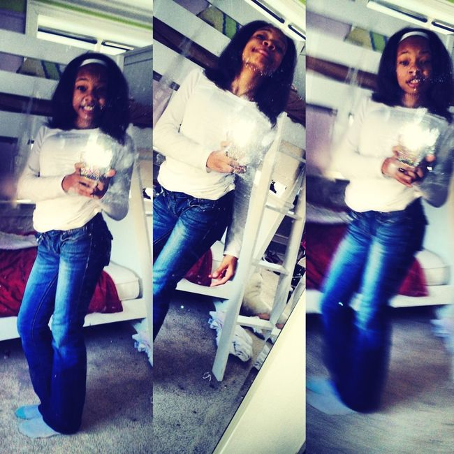 In School Doing My Thangg