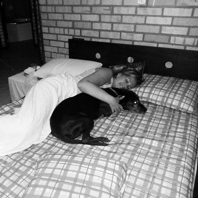 Misto de amor e saudade! Delícia acordar assim! Bom dia! ♡♥ Luna Emuitoamor FamíliaSoWen Floripa santacatarina brazil