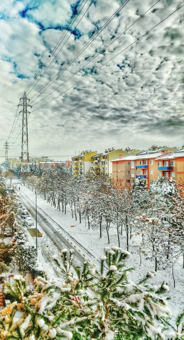 It's Cold Outside Hi! Turkey Bursa Ataevler Hello World Clouds Picture Nature Sky First Eyeem Photo Winter Snow Cloudporn Trees My Country ın A Photo Photography Good Day Pic Fotoshooting Fotografia Houses Taking Photos Bestoftheday Iyigünler
