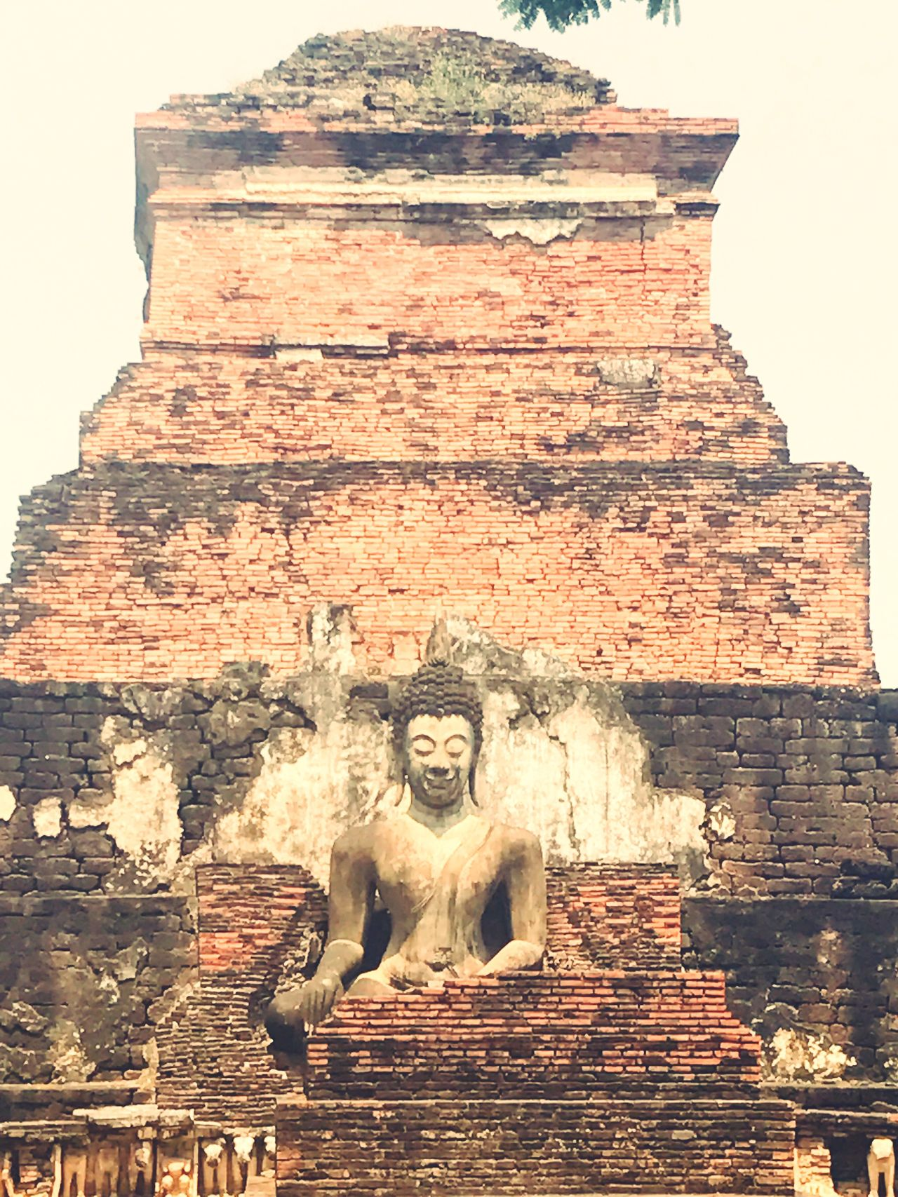 Sukhothaihistoricalpark Sukhothai Thailand Buddhism Buddha Monk  Smile Culture History Old Architecture