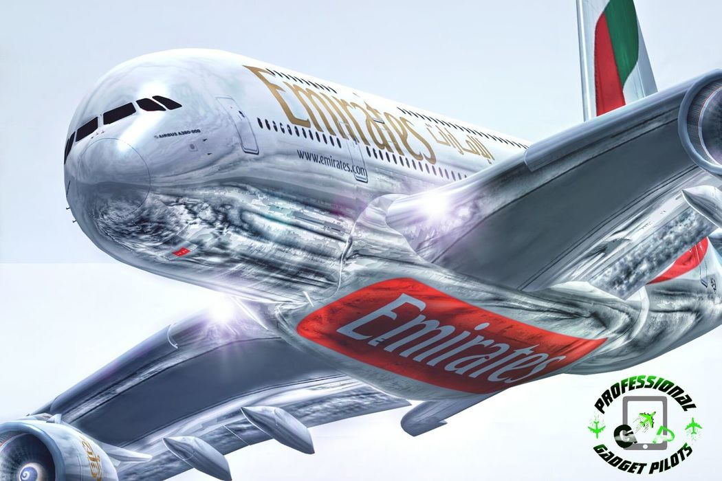 Emirates A380-800