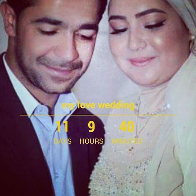 Love Wedding Bride Happy Love With My Darling Habibi 3chiri Tej Rassi Rabbi Ihanina 3irssi -11jours ♡♡♡♡
