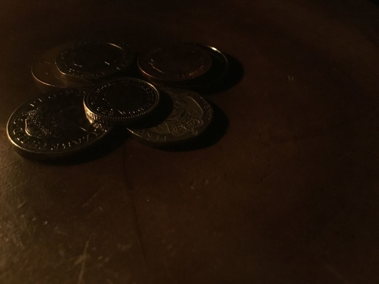 table, coin, no people, indoors, close-up
