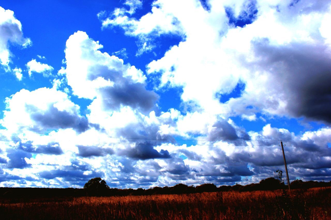 cloud - sky, sky, beauty in nature, scenics, nature, tranquil scene, tranquility, field, day, landscape, outdoors, no people, rural scene