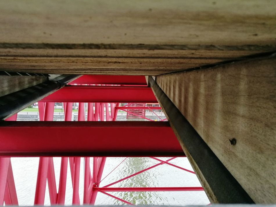 Red Built Structure Architecture Day No People Bridge Amsterdamcity Nederland Holland Puente Ponte